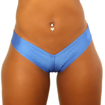 Medium Royal Blue Strippers Booty Shorts