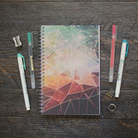 Geometric Galaxy Planner  / Weekly / Half-size - Choose Your Layout, Style, Colors & Month!