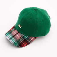 Shop Winter Tartan Baseball Hat at vineyard vines
