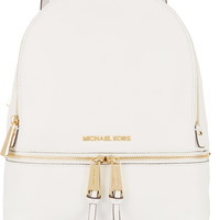 MICHAEL Michael Kors - Rhea textured-leather backpack