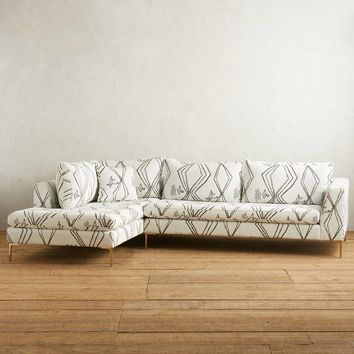Berber-Woven Edlyn Left Sectional