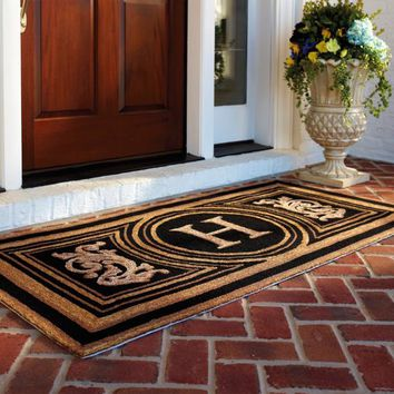 Wingate Monogrammed Entry Mat | Frontgate
