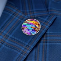 Rainbow Metal Pin, Rainbow Accessories, Pride, Fun Gifts, Lapel Pins