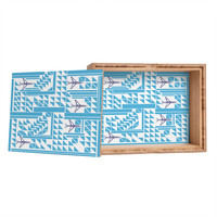 Vy La Airplanes And Triangles Jewelry Box