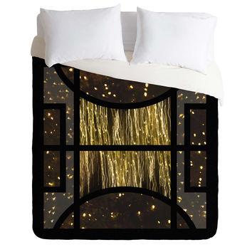Triangle Footprint Cosmos3 Duvet Cover