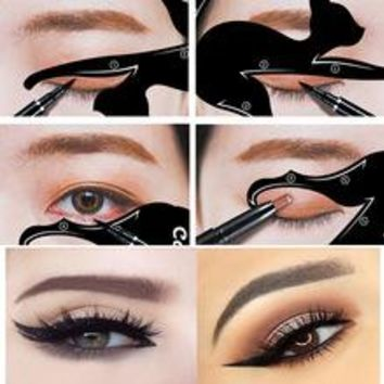 Perfect Cat Eyeliner Stencils 2 pcs