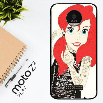 Tattooed Ariel Y0119 Motorola Moto Z2 Play Case