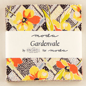 Gardenvale Charm Pack by Jen Kingwell for Moda Fabrics - 5 inch squares