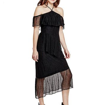Libby Lace Dress at Guess