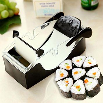 Best Selling Easy Sushi Maker Cutter Roller DIY Kitchen Perfect Magic Onigiri Roll Tool Sushi Mold Cooking Tools