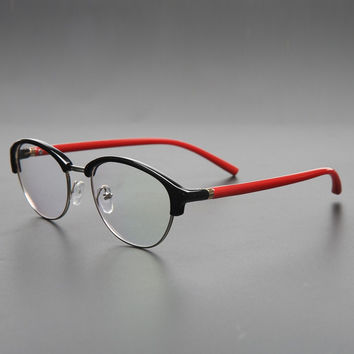 Men Glasses Frame Titanium Eyeglasses Optical Glasses Frame Reading Clear Glasses suit Prescription Eyewear Lenses LY6 SM6