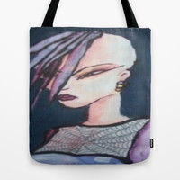 mohawk Tote Bag by helendeer
