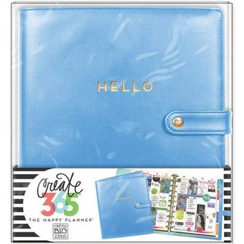 Me and My Big Ideas Create 365 Collection Planner Deluxe Cover Big Snorkel Blue