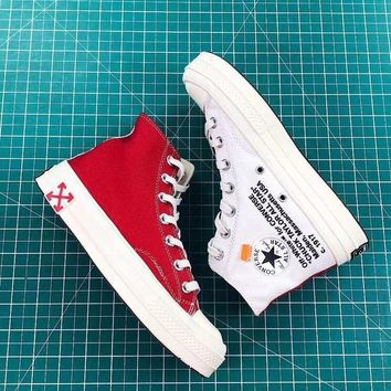 Off-White x Converse Chuck Taylor 70s Red White - Best Deal Online