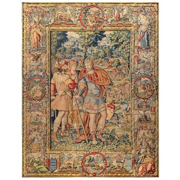 Monumental Tapestry - Brussels circa 1575 - Cyrus