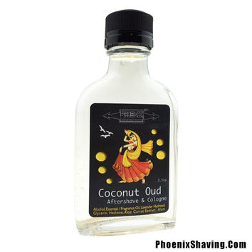 Coconut Oud Aftershave / Cologne - w/ Hedione