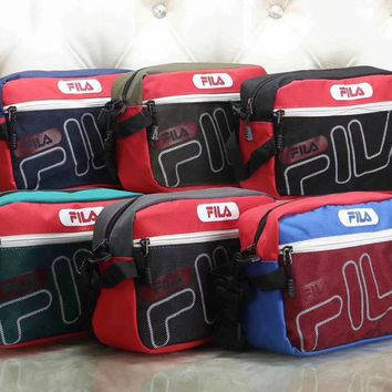 Fila Women Fashion Leather Satchel Bag Shoulder Bag Crossbody