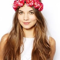 New Look Hawaiian Rose Hair Garland