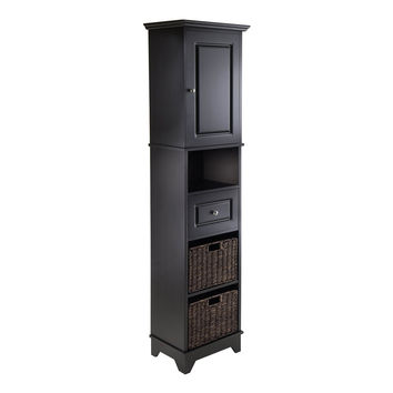Wyatt Tall Cabinet with Baskets