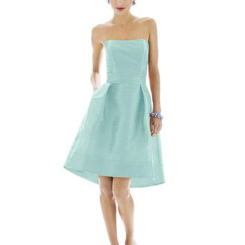 Alfred Sung - D580 Bridesmaid Dress in Sangria