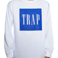 Trap Coke White L/S Tee