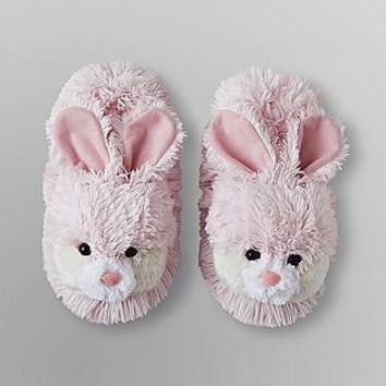 Joe Boxer- -Women's Fluffy Slippers - Rabbit-Shoes-Womens-Slippers