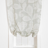 Plum & Bow Sugarplum Lace Draped Shade Curtain