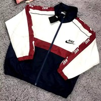 Free shipping-NIKE 2019 sports and leisure hooded string jacket jacket