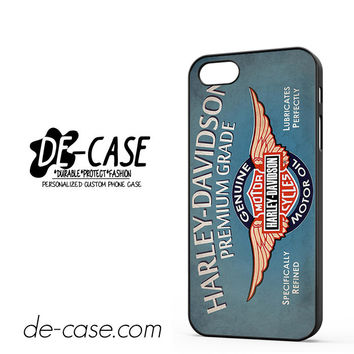 Harley Davidson Premium Grade For Iphone 5 Iphone 5S Case Phone Case Gift Present YO
