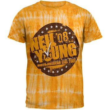 Neil Young - Fall 08 Tour Tie Dye T-Shirt