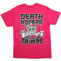 Kawaii Adder T-Shirt Magenta