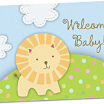 Welcome Baby Blank Note Card