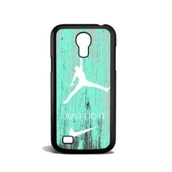 CREYUG7 Nike Jordan Mint Wood Samsung Galaxy S4 Mini Case