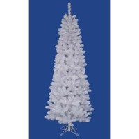 Walmart: 4.5' White Salem Pine Pencil Artificial Christmas Tree - Unlit