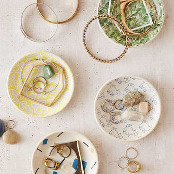 Printed Ceramic Catch-All Dish - Urban Outfitters