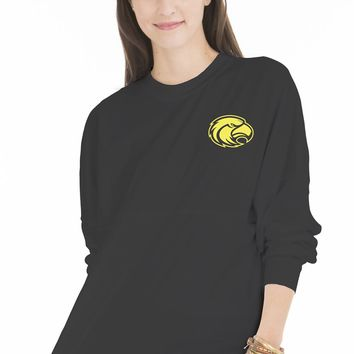 Official NCAA University of Southern Mississippi Golden Eagles Southern Miss Women's Long Sleeve Spirit Wear Jersey T-Shirt.