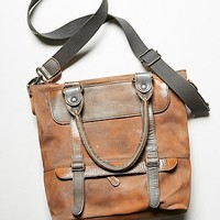 Bed Stu Womens Big Fork Tote - Silver Lux / Grey Suede One
