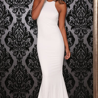 Abyss by Abby COCO White Formal Gown Dress