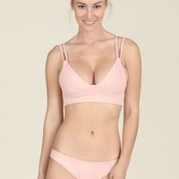 Tori Praver Swimwear - Suzette Top | Rose Quartz