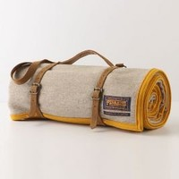 Pendleton Throw, Yellow - Anthropologie.com