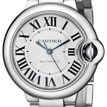 Cartier Women's W6920071 Analog Display Automatic Self Wind Silver Watch