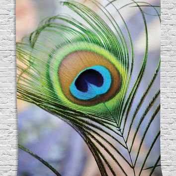 Peacock Feather Wall Boho Tapestry