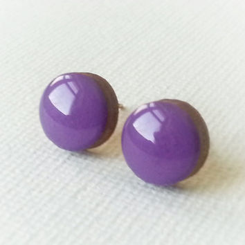 Radiant Orchid Earrings - Radiant Orchid Studs - Radiant Orchard Earrings