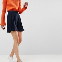 ASOS Tailored Pleated Mini Skirt at asos.com