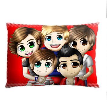 Cartoon Character One Direction, Custom Pillow Case Cover Design. Choose for size