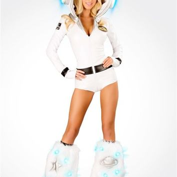J. Valentine Astronaut Romper Costume : Cute Sexy Rave Costumes from RaveReady