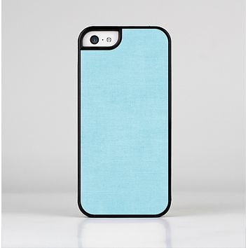 The Vintage Blue Surface Skin-Sert Case for the Apple iPhone 5c