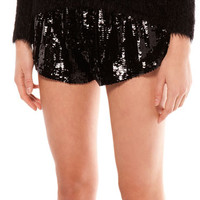 Bershka United Kingdom - Bershka sequin detail shorts