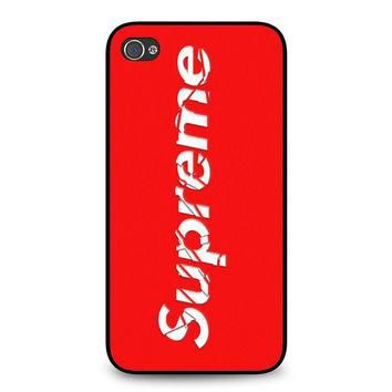 Supreme iPhone 4 | 4S case