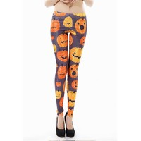 Pumpkin Halloween Leggings
